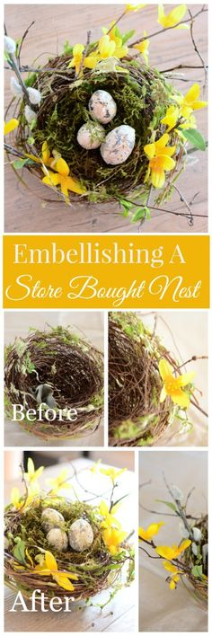 HOW TO EMBELLISH A STORE BOUGHT WREATH- an easy diy
