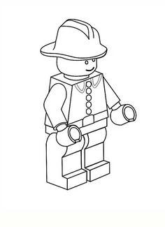 15 Desenhos de Lego para Pintar e se Divertir!