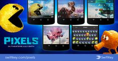 SwiftKey Intros PIXELS-Inspired Themes