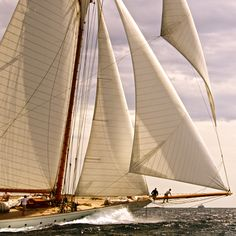 What an incredibly beautiful vessel. She reminds me of the Goodwill, Pioneer, and 'Tiki' from my youth. This was the vision that filled my adolescent dreams.