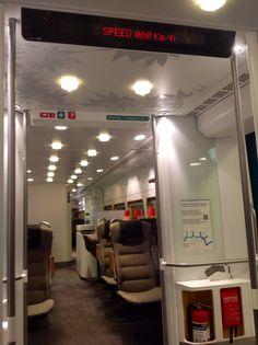 A real Arlanda Express in Stockholm, Sweden. ;p janholmberg.weebly.com