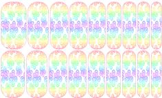 Pastel Flower --- My custom Jamberry NAS design. If interested message me. $25 a sheet (includes the setup fee)