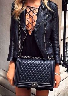 lace up + leather