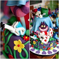 The best Alice in Wonderland cake!