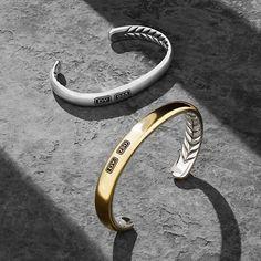 David Yurman Streamline® bracelets.