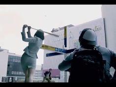 マジヤバイ!街中で野球をするトヨタのCMが凄い!あの外国人選手も出演! - YouTube