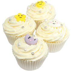 Baby Dream Zuckerdekor, 12 Stück Cupcakes, Babyshower, Desserts, Food, Birthday, Bakken, Simple, Tailgate Desserts, Cupcake Cakes