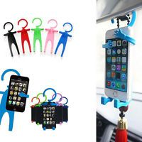Funny Car Cell Phone Holder Universal Silicon Phone Stand Flexible Tools Mounts