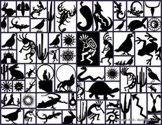 If you love the look and feel of wood, you shoul… Mosaic Patterns, Pattern Art, Pattern Design, Art Patterns, Native American Animals, Native American Patterns, Southwestern Art, Southwest Style, Metal Yard Art