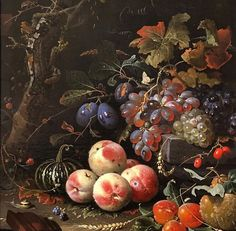 First time in a room with an Abraham Mignon piece- I'm dead. So many incredible details! Fruit Painting, Oil Painting On Canvas, Painting Art, Be Still, Still Life, Esther Garcia, Dutch Artists, Old Paintings, Various Artists