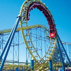 The Wild Thing roller coaster at Wild Waves Theme Park .