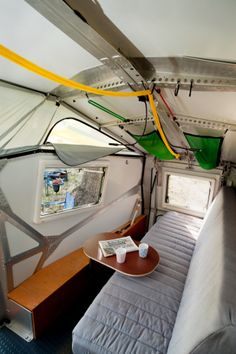 Cricket Trailer interior