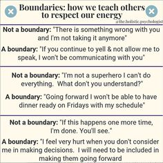 These quotes about boundaries will do more than just help you set and honor your boundaries. They will help you understand why setting boundaries can feel uncomfortable and why we have to set them anyway. Boundaries Quotes, Personal Boundaries, Healthy Relationships, Relationship Advice, Trauma, Affirmations, Setting Boundaries, Psychology Quotes, Personality Psychology