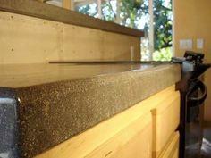 Concrete Counter Tops Orange County CA by Davis Concrete - 951-461-7123