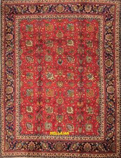 Mollaian Tappeti, Tabriz 30R d'epoca Persia 333x255