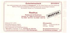 Essen gehen Restaurant und Steakhaus Reethus Timmendorfer Strand Wohldstraße 25