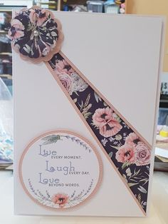 Debbie Moore, Paper Fans, Embossed Cards, Beyond Words, Creative Crafts, Paper Design, Floral Tie, Making Ideas, Birthday Cards
