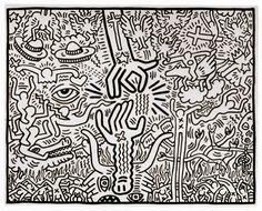 Keith Haring/ Drawings