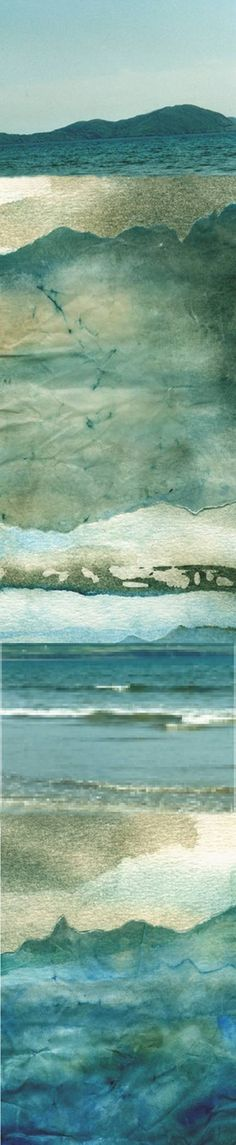 "Saatchi Art Artist Yvonne North Moorhouse; New Media, ""Kerry Coast"" #art"