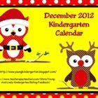 December 2012 Calendar has 50 pages of fun activities including a calendar, weather graph, counting the number of days in school, color words, coun...
