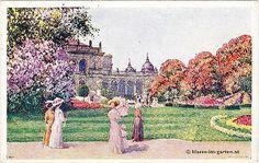 Wien, Stadtpark (Vienna, City Garden) before 1919
