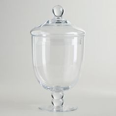 One of my favorite discoveries at WorldMarket.com: Small Round Apothecary Jar for the cookie table