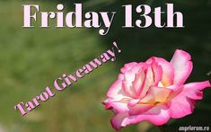 It's Friday 13 and a New Moon. The Goddess energy is as strong as it celebratory today. Let's get the party started with a Tarot Giveaway!