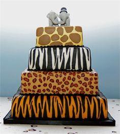 Wedding cake - Twycross Zoo