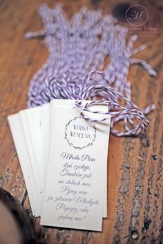 #wedding #day #paper #decorations #elegant #style #white #purple #stationery #bride #groom #wesele #ślub #elegancki #styl #biel #fiolet #papeteria #pannamłoda #panmłody