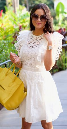 Shop sexy club dresses, jeans, shoes, bodysuits, skirts and more. Dressy Casual Outfits, Chic Summer Outfits, White Outfits, Casual Dresses, Girls Dresses, Couture Dresses, Fashion Dresses, Dress Skirt, Lace Dress