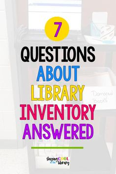 All your questions about a completed library inventory answered! Learn practical tips to make sure your library inventory with Destiny is successful. Elementary School Library, Elementary Teacher, Elementary Schools, Library Lessons, Library Ideas, Creative Teaching, Teaching Ideas, Teacher Librarian, Teacher Stuff