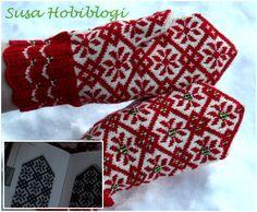 Mittens Pattern, Knit Mittens, Knitted Gloves, Knitting Socks, Fingerless Gloves, Hand Knitting, Knitting Stitches, Knitting Patterns, Susa