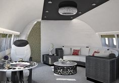 20 Luxury Interiors For Your Private Jet | See more at http://luxurysafes.me/blog/jets/20-luxury-interiors-for-your-private-jet/ | #LuxuryInteriors #privatejet #jet #luxuryjets #designs #luxurydesign #aircrafdesign