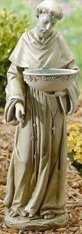 Saint Francis with Birds Garden Statue Patron Saint of Animals – Beattitudes Religious Gifts
