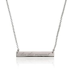 SAMANTHA WILLS - LIVE IN THE MOMENT NECKLACE - SILVER