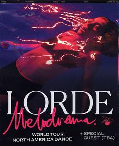 #Lorde's new album #Melodrama is officially out ...aaaand she just announced a North American arena #tour! Dates @ http://ift.tt/2svTQgQ #Milwaukee #StLouis #Denver #Vancouver #Portland #Oakland #LosAngeles #Houston #Dallas #Tulsa #Detroit #Toronto #Philly #Boston #Brooklyn #Tampa #Miami
