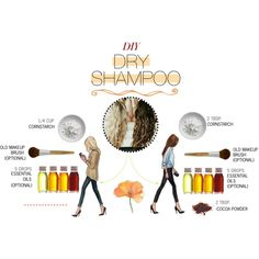 DIY dry shampoo! Cocoa powder for brunettes!!!!!