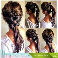 #TipsDeBelleza ¿Qué te parece este peinado para ir al gym?  ... - http://www.vistoenlosperiodicos.com/tipsdebelleza-que-te-parece-este-peinado-para-ir-al-gym/