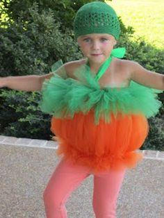 Tutu pumpkin costume