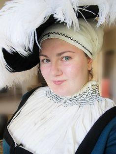 Grosses Barett - The huge 16th century German hat - 22