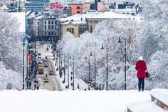 Oslo, Norway. Home of Harry Hole in Jo Nesbo's mystery series.