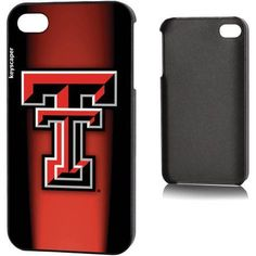 Texas Tech Red Raiders Apple iPhone 4/4s Slim Case