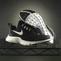 Nike Presto Fly Big Kids Shoe Black White Cheap Nike Presto 23dfd5b716