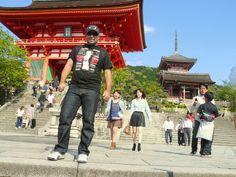 El templo de Kiyomizu dera , mi lugar en el Mundo, en Kyoto, Japon.