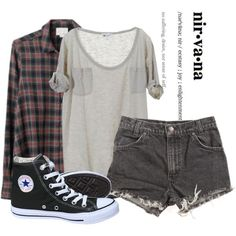 Outfit flannel outfits summer, cute grunge outfits, cute cheap outfits, c. Indie Outfits, Cute Grunge Outfits, Flannel Outfits Summer, Cute Cheap Outfits, Fall Outfits, Casual Outfits, Fashion Outfits, Womens Fashion, Fashion Trends