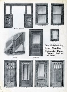 Window Styles 1920s 1920 S Guide To Craftsman Style Entry Doors More 1920 Home House Style Craftsman Style Homes Craftsman Style Craftsman House