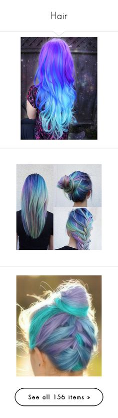 """""""Hair"""" by liz5463 ❤ liked on Polyvore featuring hair, beauty products, haircare, hairstyle, hair styling tools, hairstyles, cabelo, hair styles, pictures and accessories"""