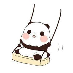 Panda Love, Cute Panda, Phineas, Korean Anime, Panda Party, Drawing Journal, Molang, Easy Drawings, Cute Wallpapers