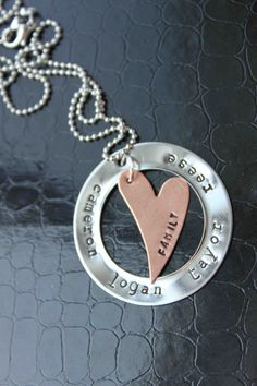 Yes...I love this hand stamped necklace ..the most!