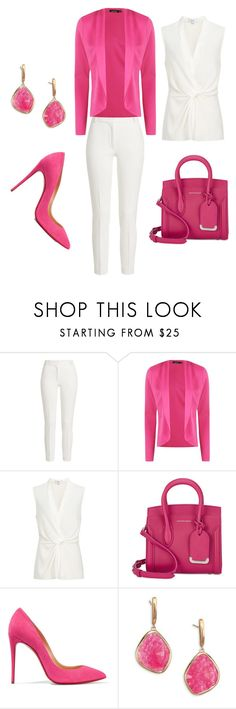 """Bez naslova #51"" by mirnela-alic ❤ liked on Polyvore featuring Joseph, Boohoo, Alexander McQueen, Christian Louboutin and Monica Vinader"